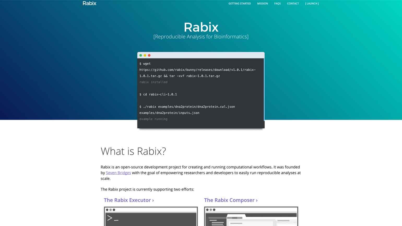 Rabix - Launch